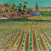 児島善三郎「麦畑」8号 1949年(昭和24年)